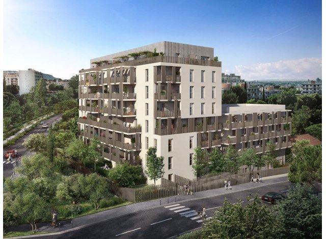Programme immobilier loi Pinel Impulsion à Marseille 10ème