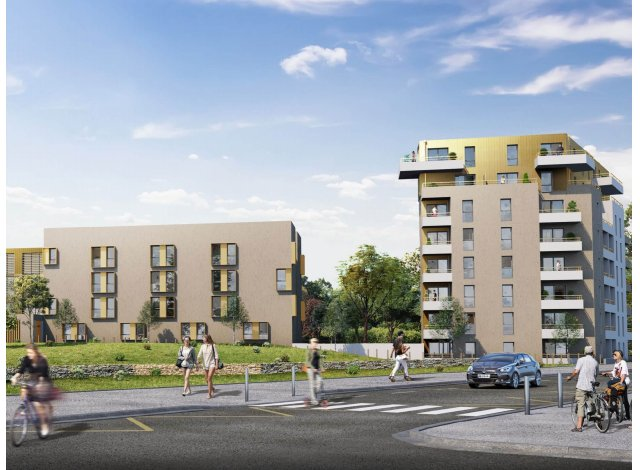 Programme immobilier loi Pinel Michel Ange à Orvault