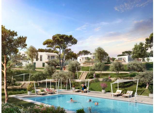 Programme immobilier loi Pinel Eleganza à Le Lavandou