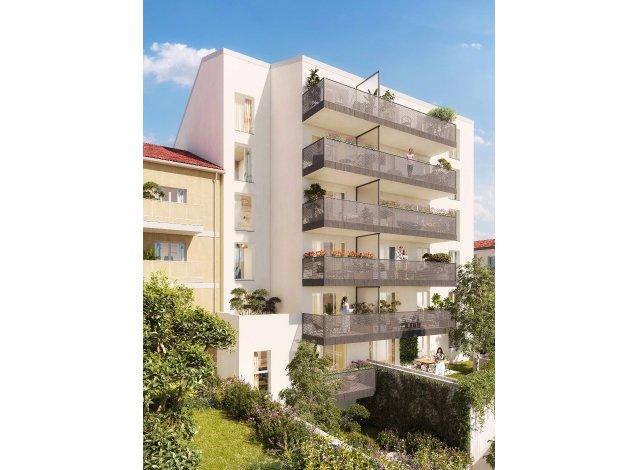 Programme immobilier neuf éco-habitat Prochainement à Nice