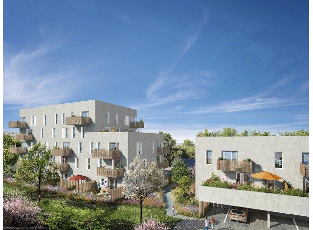 Programme immobilier loi Pinel Les Jardins d'Antoine à Nantes