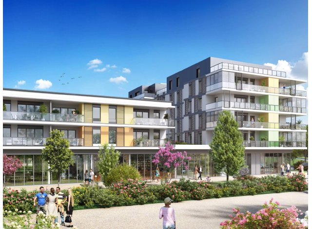 Programme immobilier loi Pinel Connectis 2 - Emergence à Saint-Genis-Pouilly