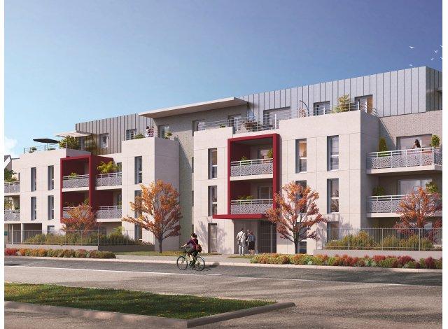 Programme immobilier loi Pinel Esprit Centre à Chambray-lès-Tours
