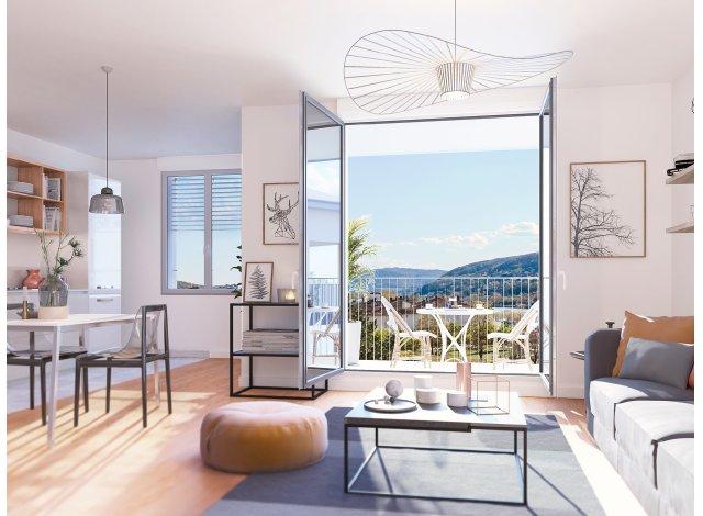 Programme immobilier loi Pinel Oreades à Neuville-sur-Saône