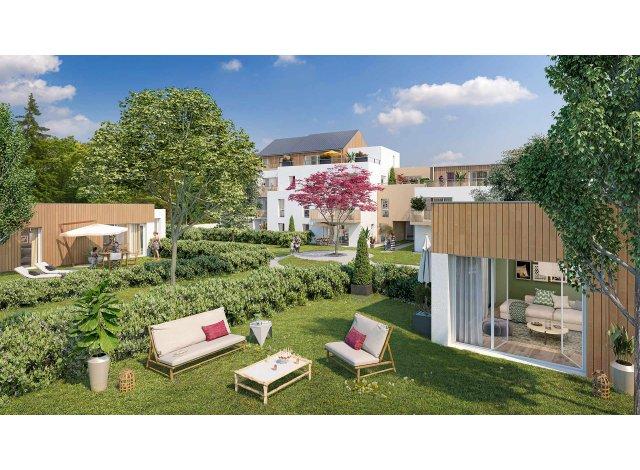 Programme immobilier loi Pinel Cosy Garden à Nantes