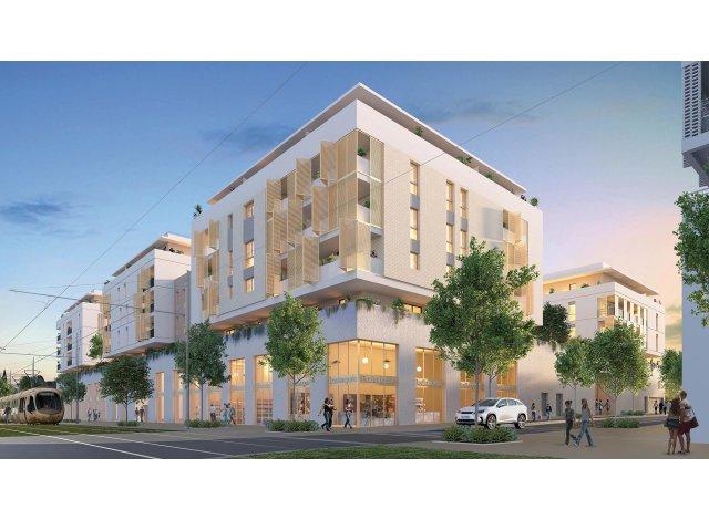 Programme immobilier loi Pinel Nova Park à Montpellier