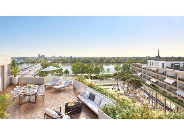 Programme immobilier loi Pinel Le Belvedere - Bordoscena à Bordeaux