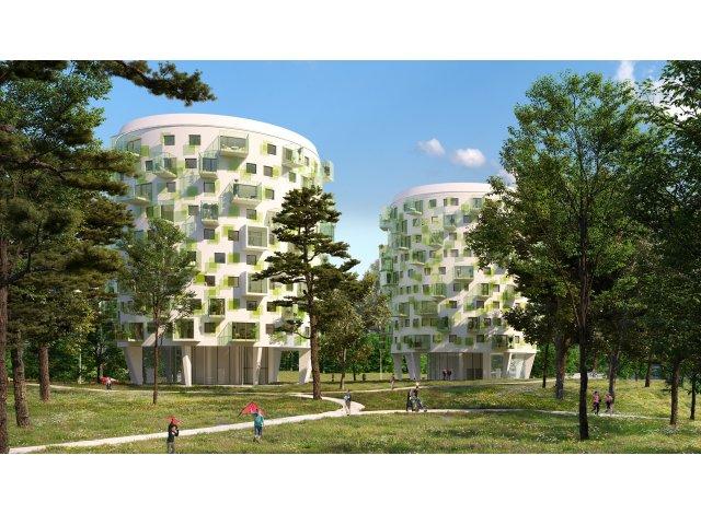 Programme immobilier loi Pinel Parc de Fontbelleau à Lormont