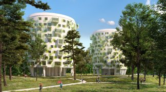Eco habitat programme Parc de Fontbelleau Lormont