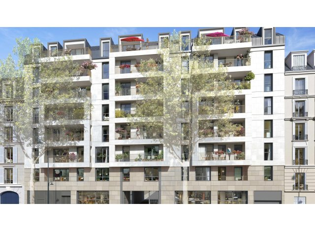 Programme immobilier loi Pinel Résidence Privilèges à Clichy