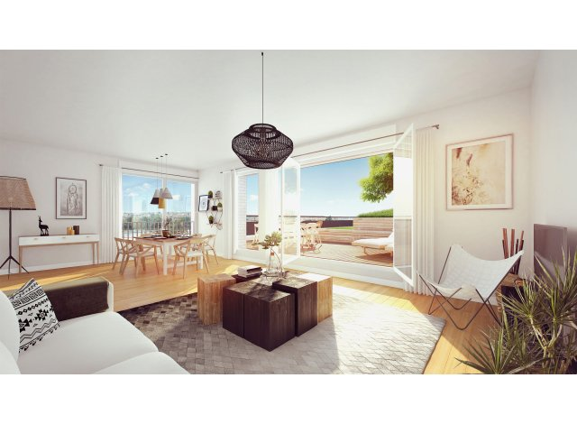 Programme immobilier loi Pinel Le Belvedere - Bordoriva à Bordeaux