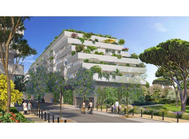 Programme immobilier loi Pinel Móda à Sète