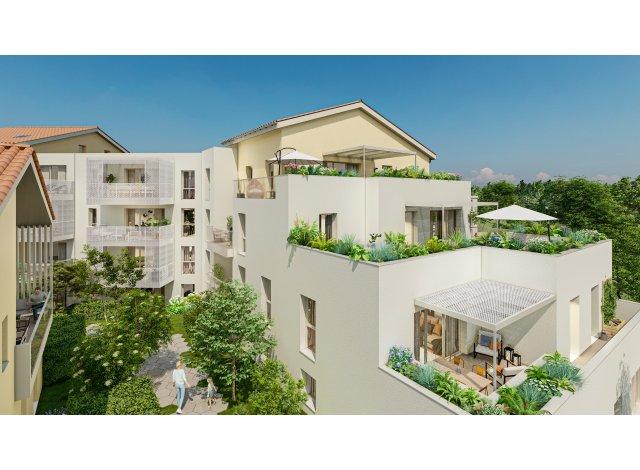 Programme immobilier loi Pinel Le Jardin d'Héméra à Villefranche-sur-Saône