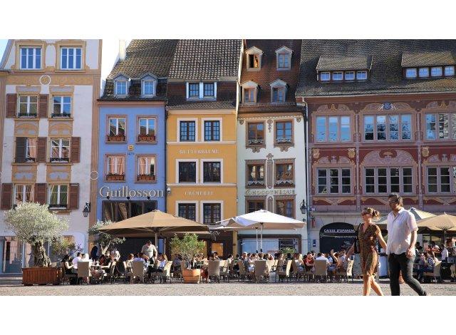 Programme immobilier neuf éco-habitat Les 4 Saisons à Mulhouse
