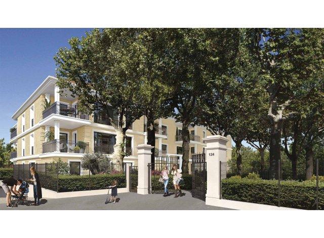 Programme immobilier loi Pinel 124 Fontenaille à Aix-en-Provence