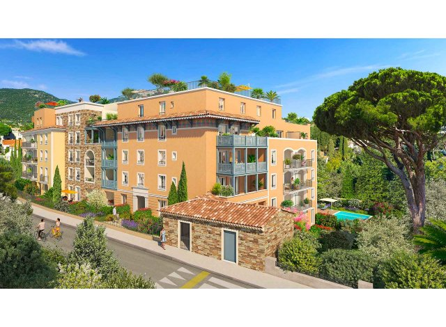 Programme immobilier neuf Castel Panorama à Cavalaire-sur-Mer