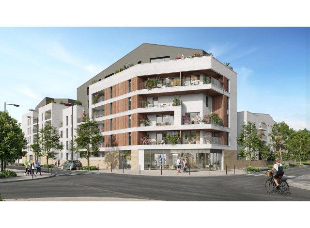 Programme immobilier loi Pinel Les Jardins d'Elise à Angers