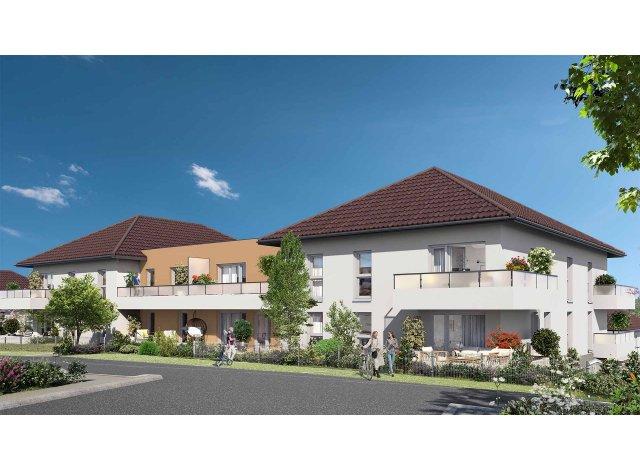 Programme immobilier loi Pinel Les Jardins des Prés Nouveaux à Mouxy