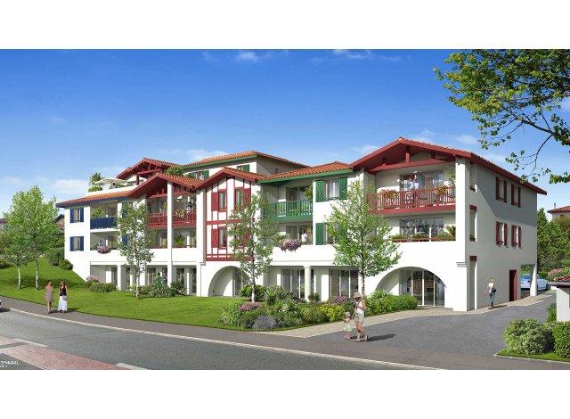 Programme immobilier loi Pinel Villa Maïka à Bidart