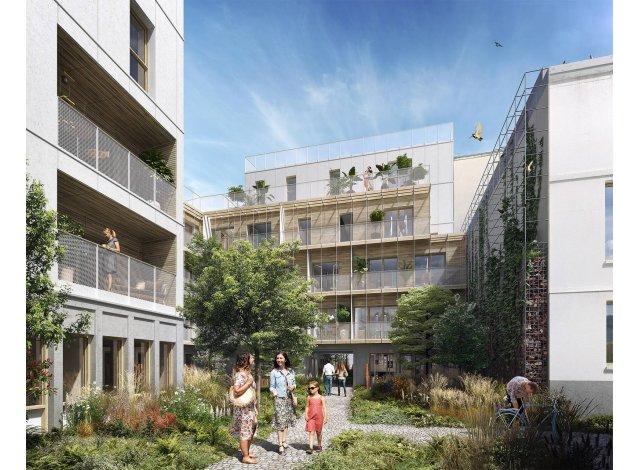 Projet éco construction Paris 20ème
