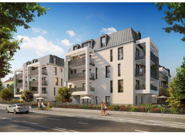 Programme immobilier loi Pinel Le Clos Marlioz à Aix-les-Bains