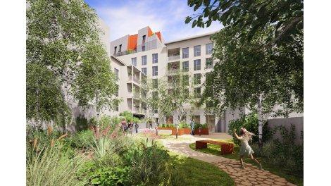 Programme immobilier neuf éco-habitat Solaris à Villeurbanne