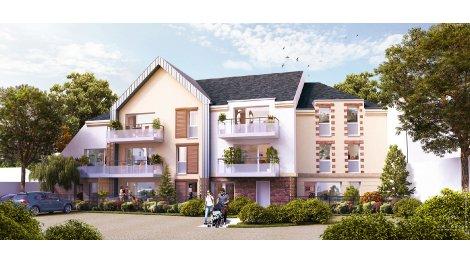 Appartement neuf Côté Saint Marc éco-habitat à Orléans