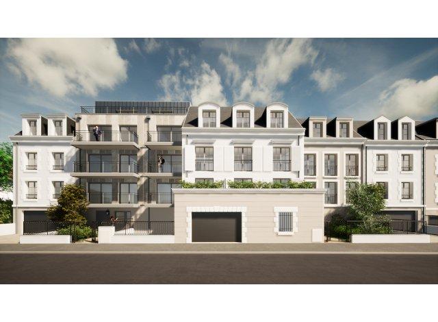 Programme immobilier loi Pinel Les Balcons du Beauvoir à Olivet