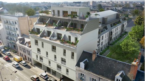 Programme immobilier neuf Le 125 Faubourg Orléans