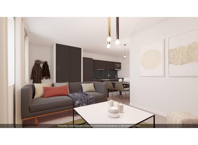 Programme immobilier loi Pinel Les Rivieres à Saint-Didier-au-Mont-d'Or