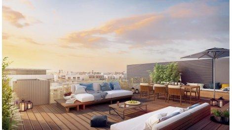 Écohabitat immobilier neuf éco-habitat Eco Quartier Issy Coeur de Ville