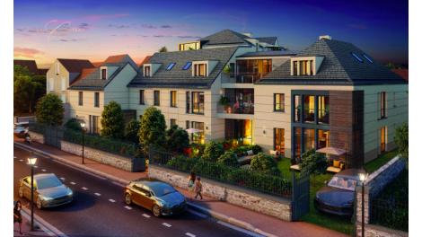 Écohabitat immobilier neuf éco-habitat Saint-Germain-en-Laye Le Clos du Chateau