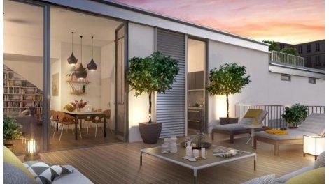Écohabitat immobilier neuf éco-habitat Paris Les Vergers du 15ème