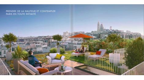 Écohabitat immobilier neuf éco-habitat Paris 20ème Sacrées Vues
