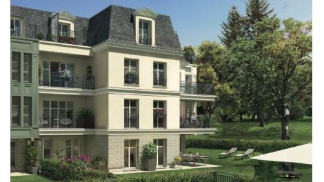 Écohabitat immobilier neuf éco-habitat Meudon Le Domaine du Parc