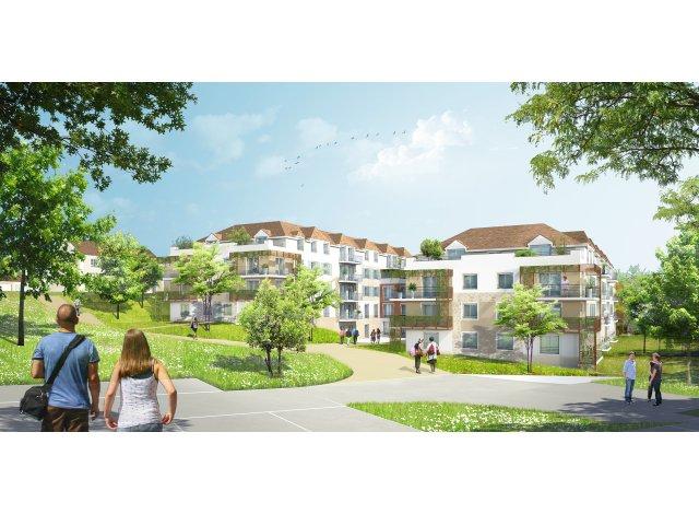Appartements et maisons neuves L'Ecrin a Villevaude éco-habitat à Villevaude