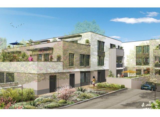 Appartements et maisons neuves Aquarelle a Montgeron éco-habitat à Montgeron