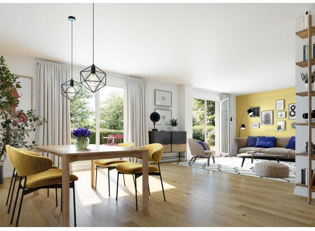 Programme immobilier loi Pinel Nature & Sens à Fontenay-le-Vicomte
