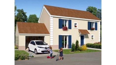 Appartement neuf Vaureal Boris Vian éco-habitat à Vauréal
