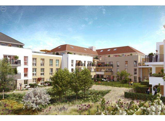 Programme immobilier loi Pinel Côté Faubourg à Ozoir-la-Ferrière