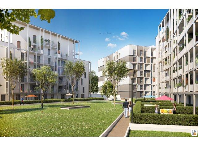 Programme immobilier neuf I.D. à Reims