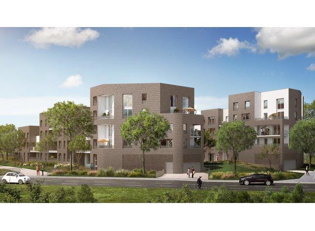 Programme immobilier loi Pinel Vill'Arborea à Lille