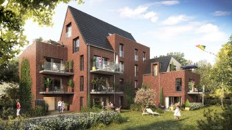 Programme immobilier neuf La Villa Buisson Marcq-en-Baroeul