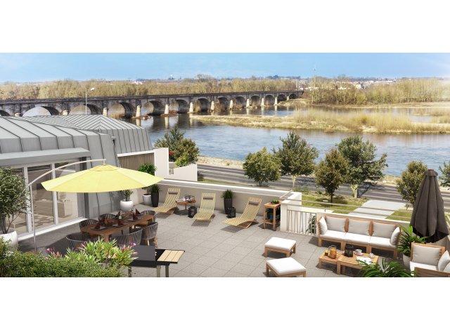 Programme immobilier loi Pinel Esprit Loire à Montlouis-sur-Loire
