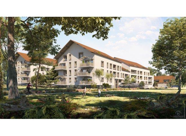 Programme immobilier loi Pinel Les Hauts Ste Radegonde à Tours