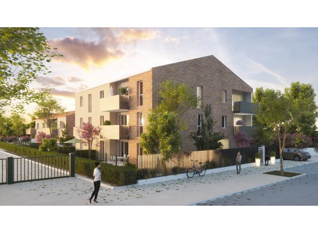 Programme immobilier neuf Le Domaine Floreal Toulouse