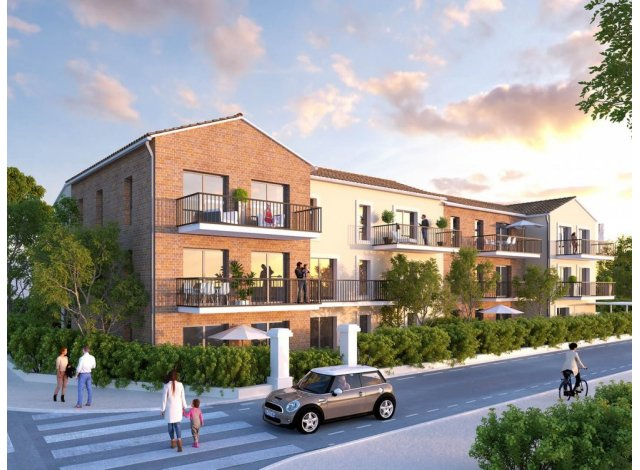 Programme immobilier loi Pinel Residence Clarte à Eaunes