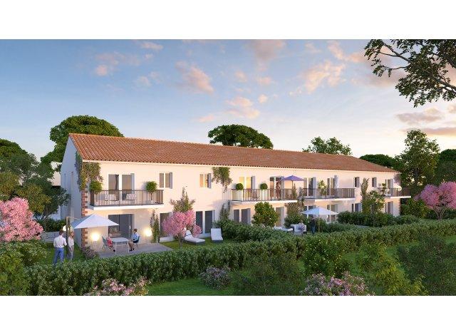Programme immobilier loi Pinel Domaine des Magnolias à Eaunes