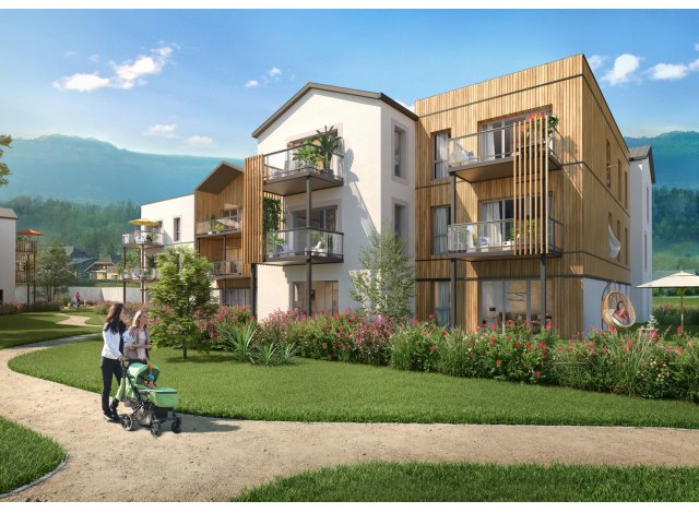 Programme immobilier loi Pinel Ocarina à Rumilly