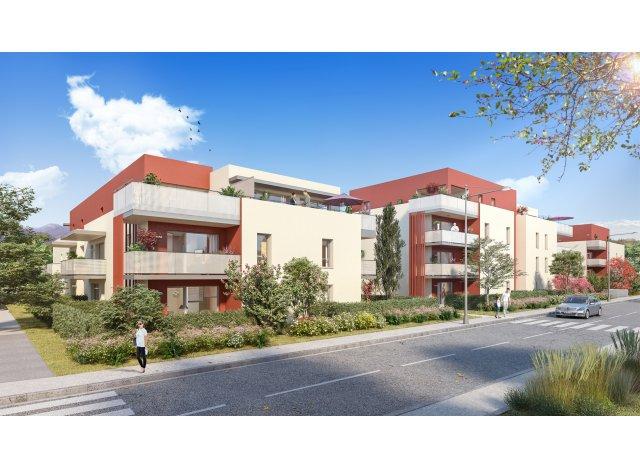 Programme immobilier loi Pinel Residence Carmina à Saint-Baldoph